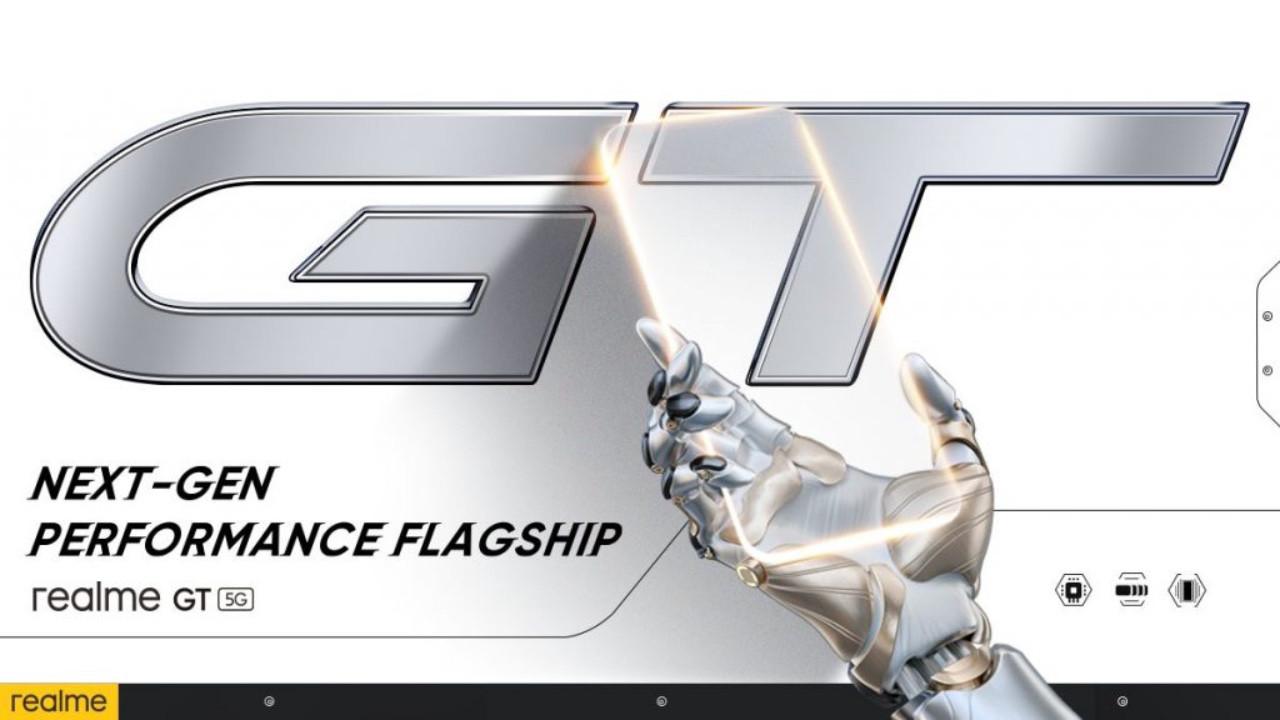 Realme GT 5G fişek gibi hızlı olacak!