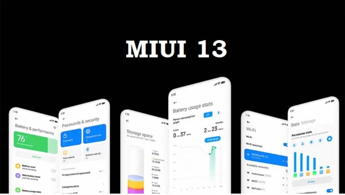 MIUI 13 ve Android 12 alacak olan Redmi telefon modelleri! - Page 1