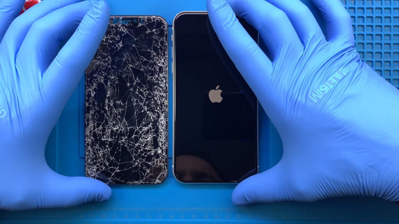 Bunu biz de beklemiyorduk! iPhone 11 Pro ekranı paramparça oldu!