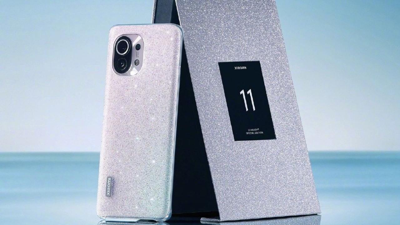 Prenseslere layık telefon: Xiaomi Mi 11 Star Diamond Gift Box!