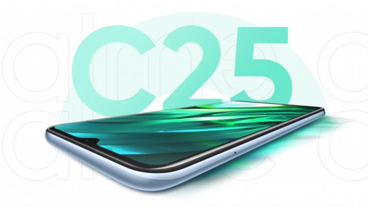 Realme C25 uygun fiyatı ile dikkat çekecek