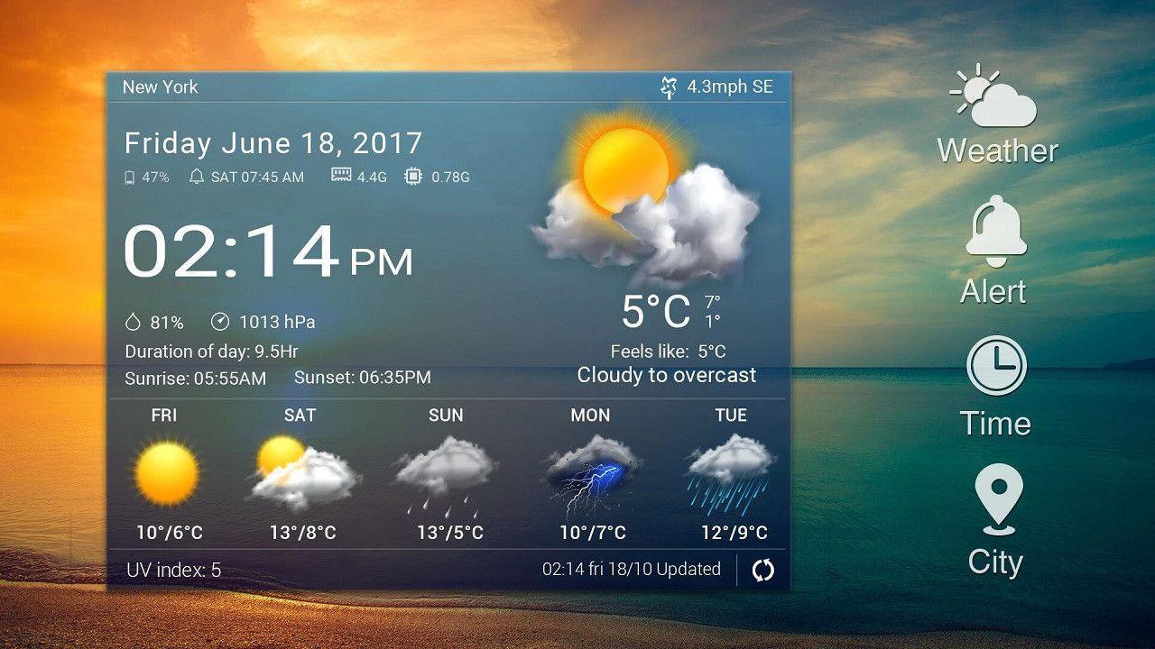 2021 yılının en iyi hava durumu uygulamaları! - Page 1