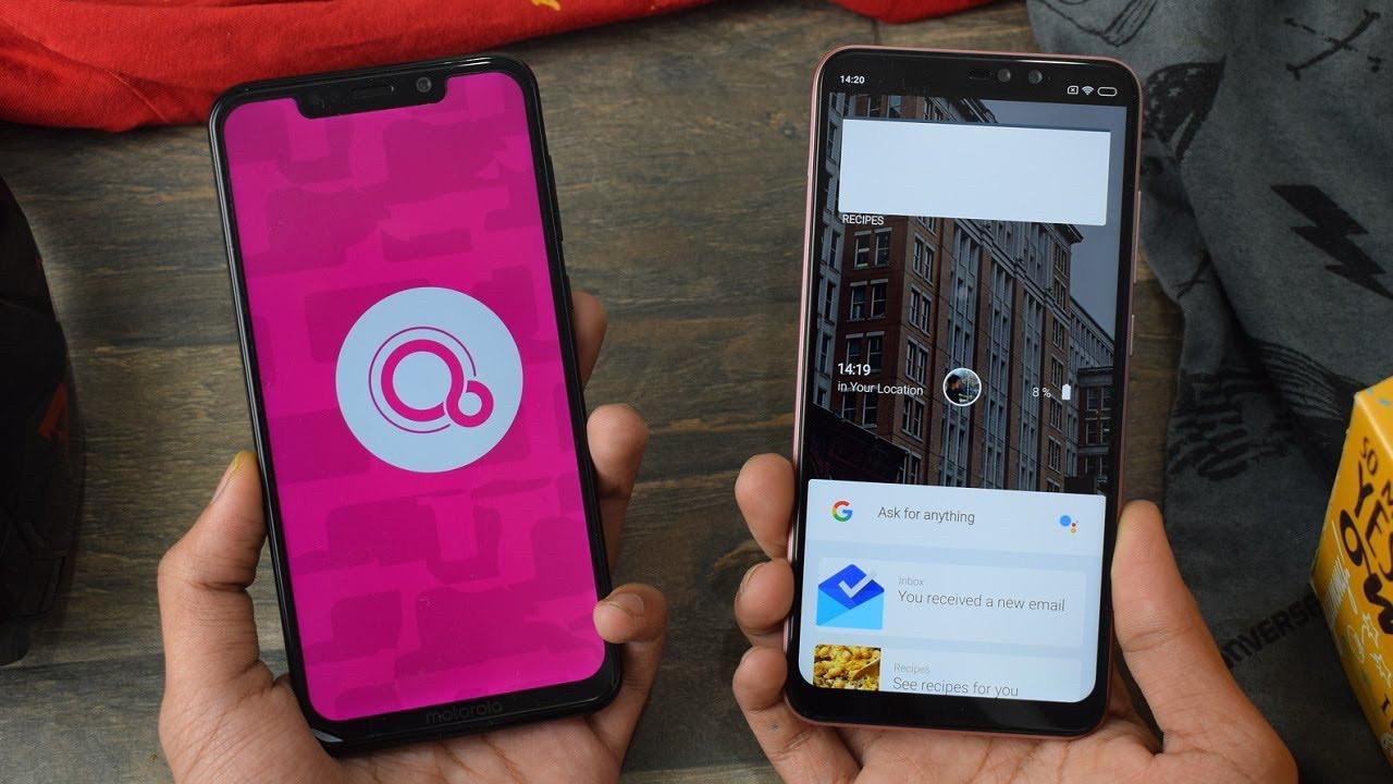 Android'e rakip işletim sistemi Google Fuchsia geliyor!
