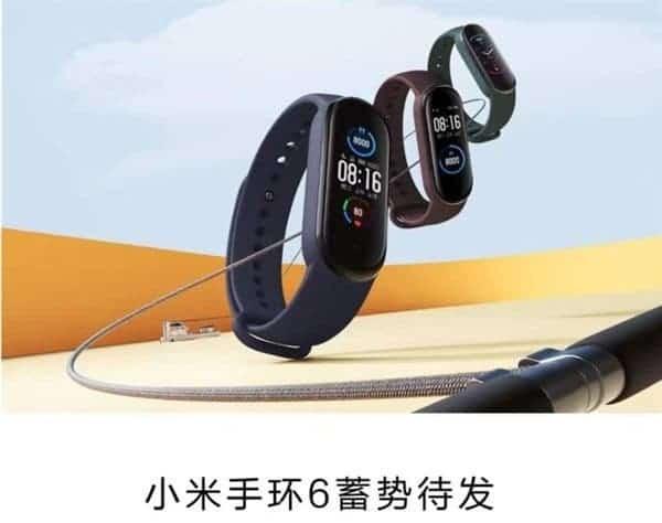Xiaom Mi Band 6
