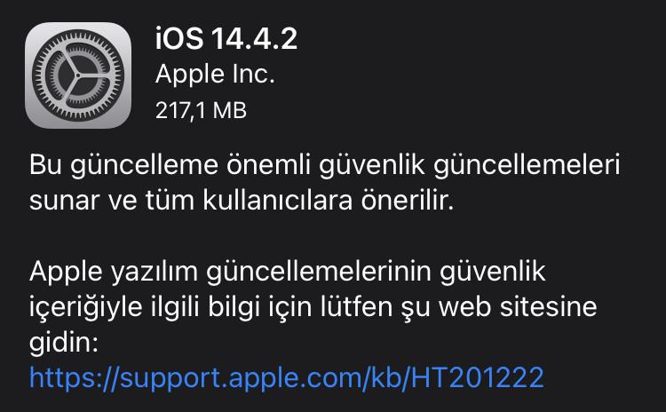 iOS 14.2.2