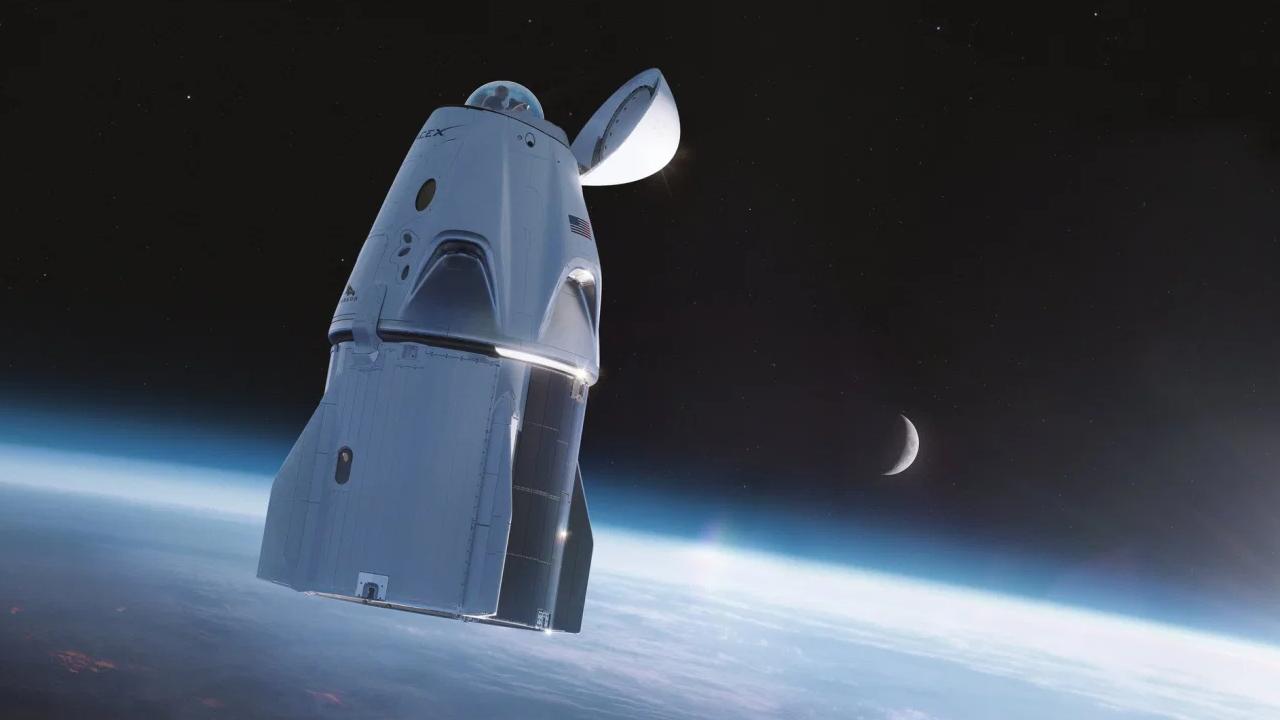 Elon Musk'ın yeni uzay aracı ile astronotlar manzaranın keyfini çıkaracak!