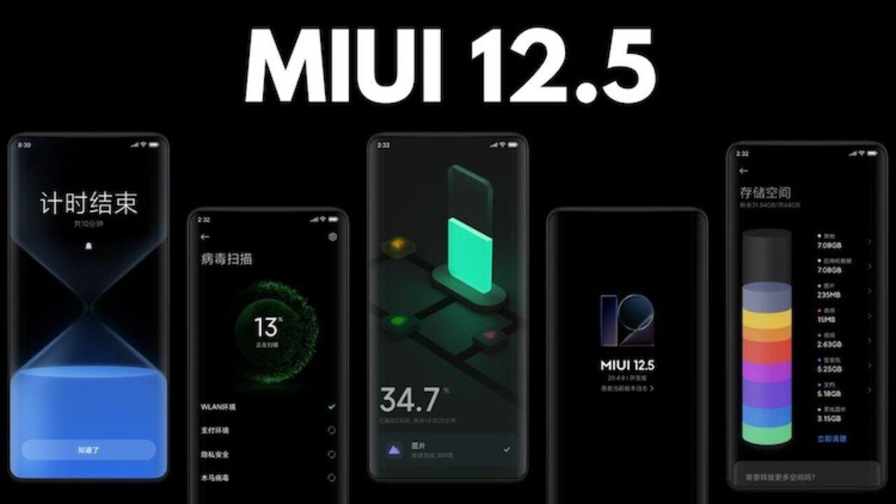 İşte 2021'inilk çeyreğinde MIUI 12.5 alacak modeller! - Page 1