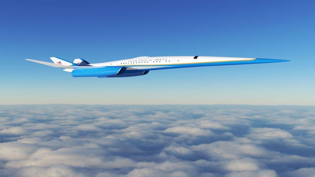 Bu uçak ABD başkanları için hazırlanıyor! Saatte 2 bin 205 km hız! - Page 1