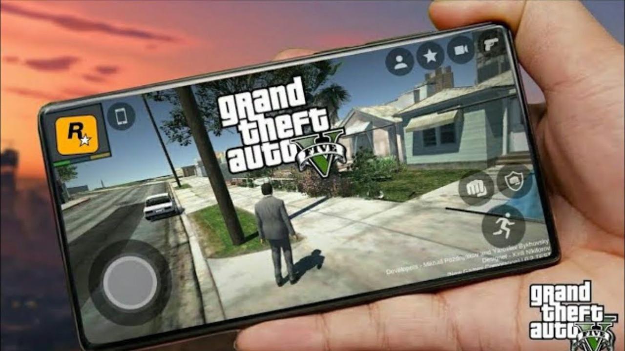 GTA 5 telefonlara geliyor! Bu sefer oluyor!
