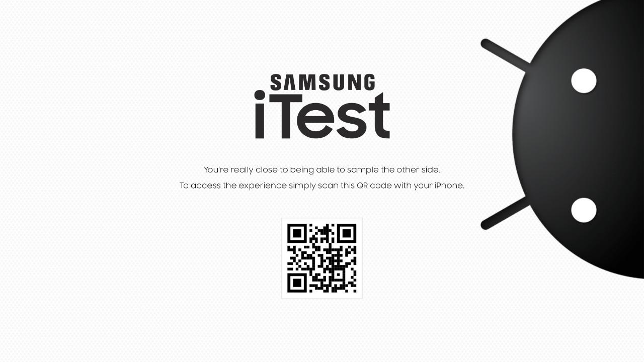 iPhone'da Android deneyimi! Samsung yaptı oldu!