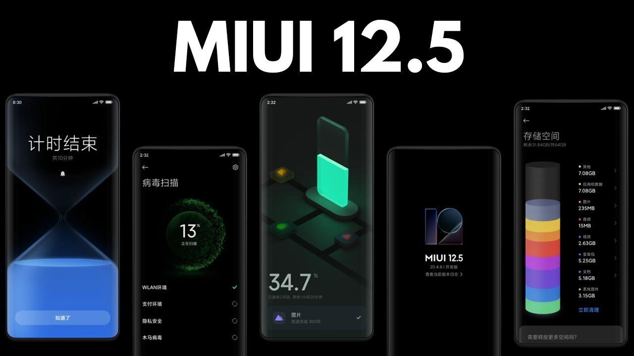 MIUI 12.5 ile telefonlar rahatlayacak!