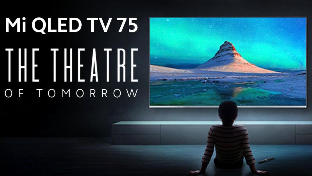 Xiaomi Mi QLED TV ile eve sinema salonu geliyor!