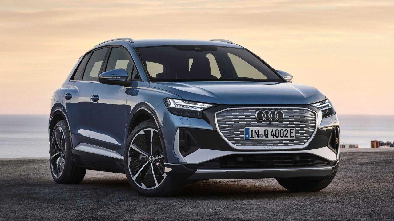 Audi elektrikli otomobili Q4 E-tron'u tanıttı! Harika tasarım! - Page 1