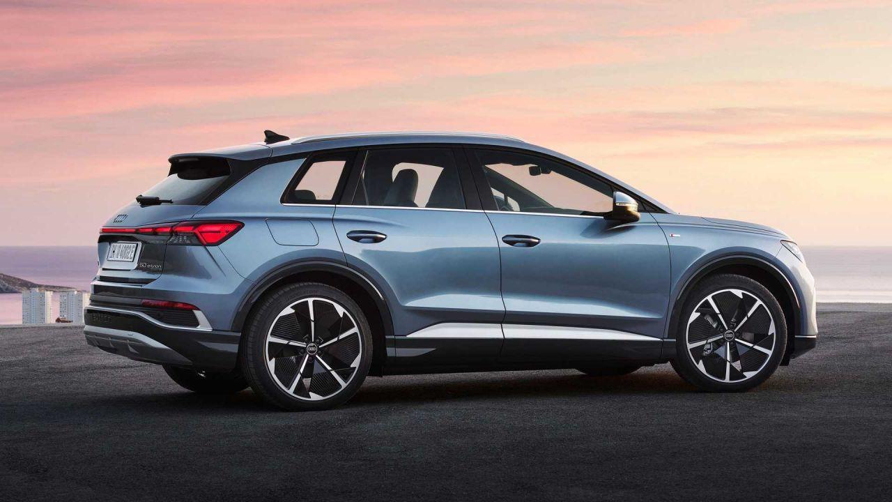 Audi elektrikli otomobili Q4 E-tron'u tanıttı! Harika tasarım! - Page 3