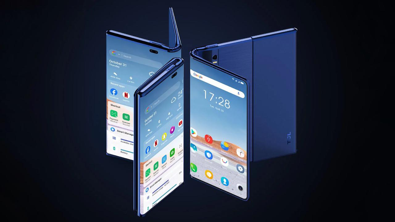 TCL Fold n Roll yakında geliyor! Tablet ile telefon bir arada!