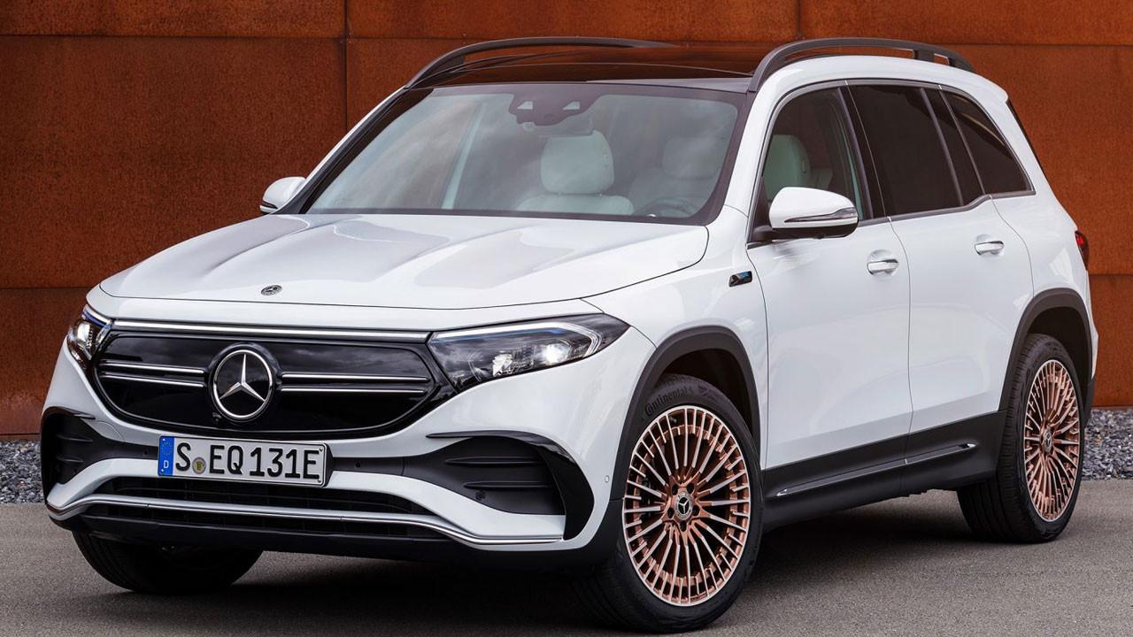Mercedes EQB: Elektrikli otomobil yağmuru sürüyor