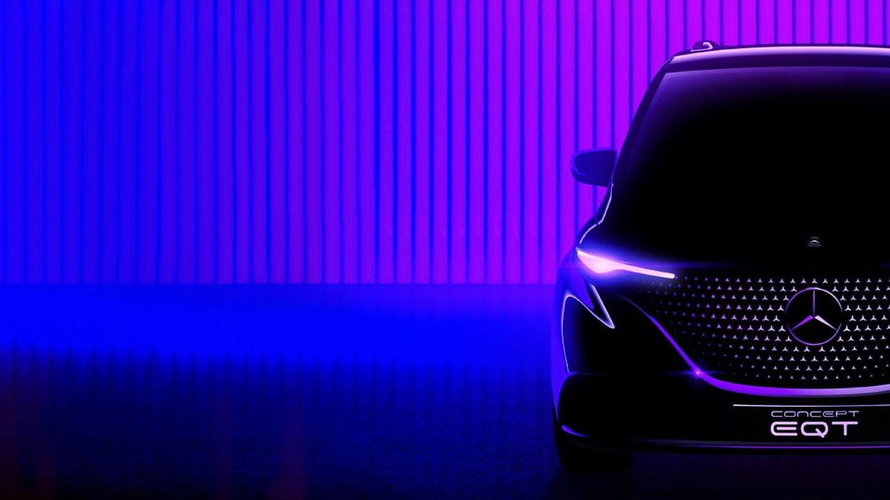 Mercedes-Benz elektrikli ticari aracı Concept EQT'yi duyurdu