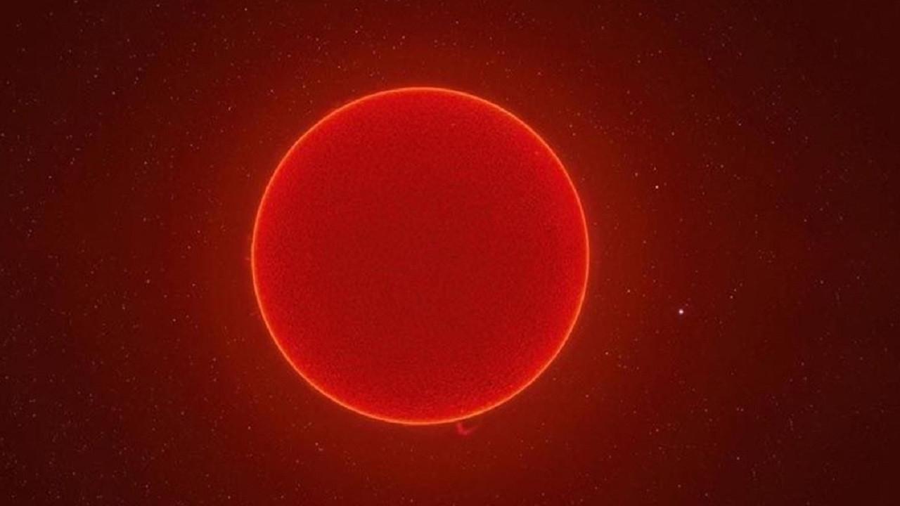 Güneş'i daha önce hiç böyle görmediniz! 230 megapiksellik fotoğraf!