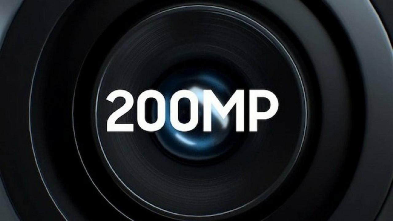 İşte 200 MP kameralı ilk telefon!