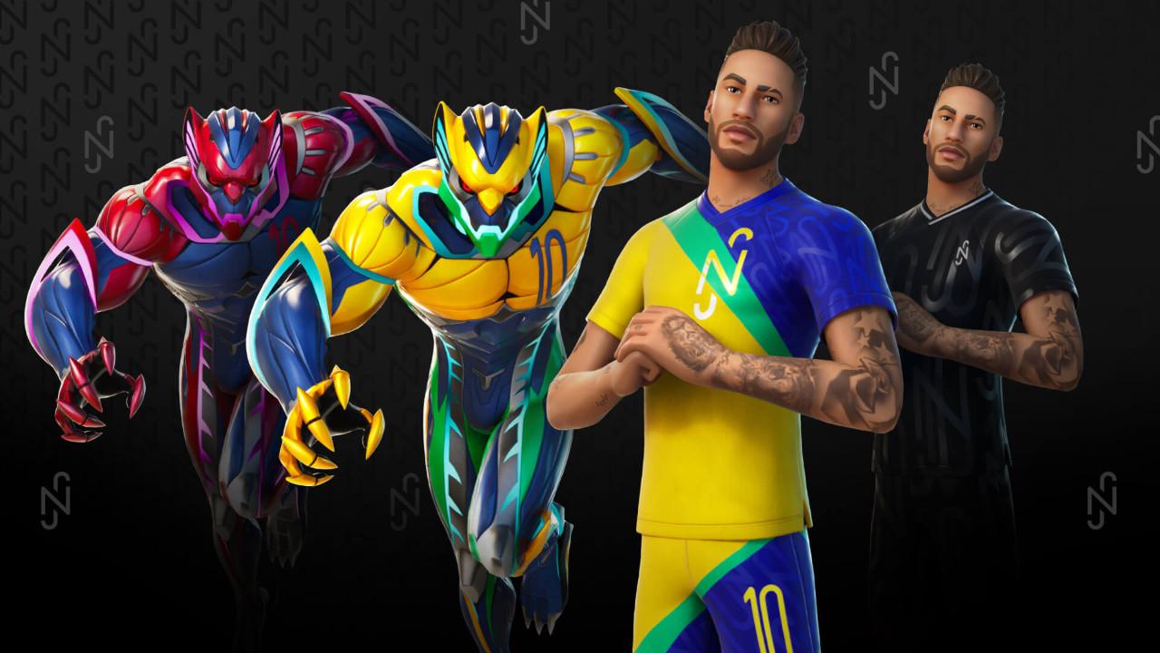 Fortnite Neymar ile samba yapacak!