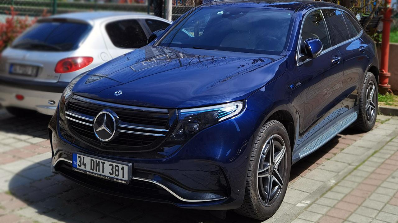 1 milyon TL'lik yüzde 100 elektrikli Mercedes EQC test ettik!