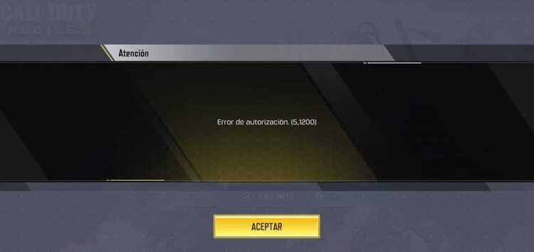 """Call of Duty Mobile """"Yetkilendirme hatası 5 1200"""" sorunu nasıl çözülür"""
