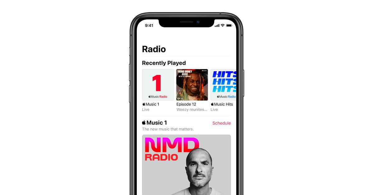 Apple müzik fotoğrafı