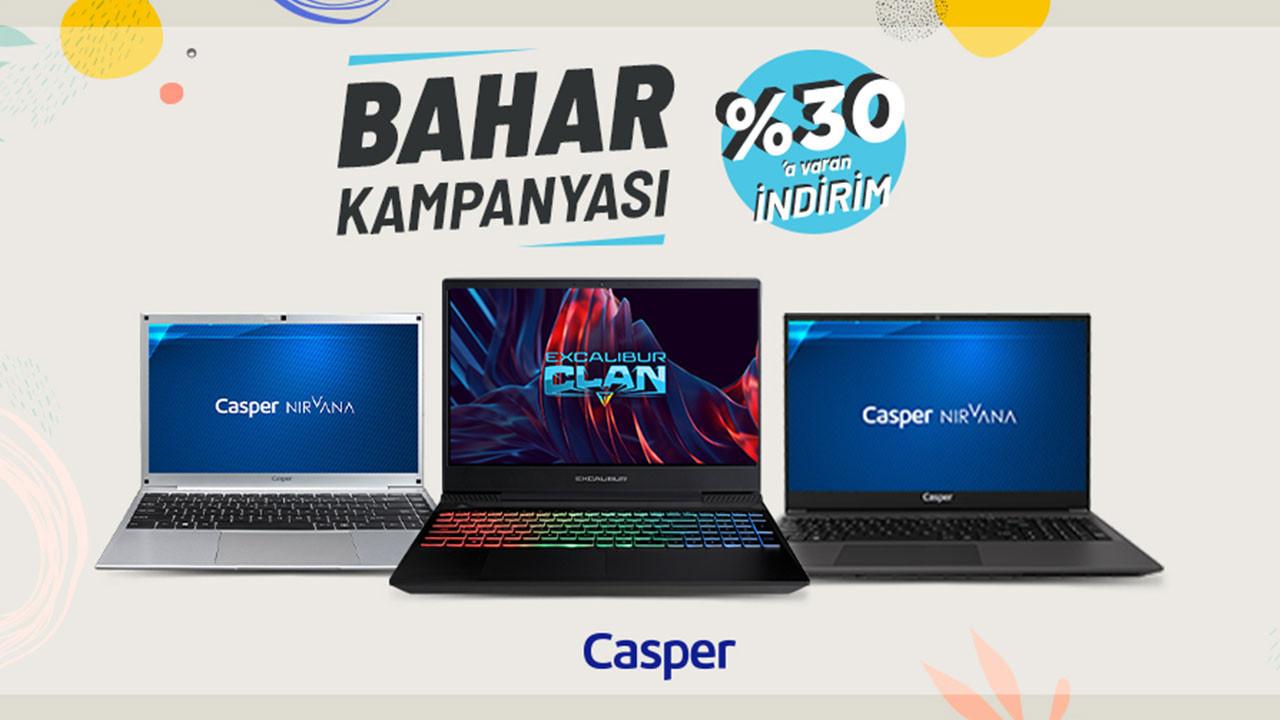 Casper'dan bahar kampanyası