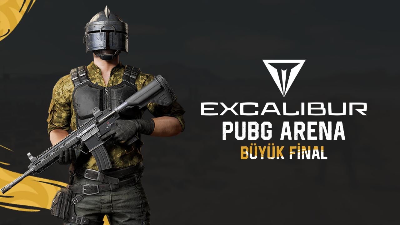 Büyük ödüllü Excalibur PUBG Arena tam gaz devam ediyor