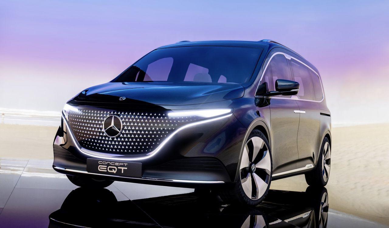 Enişteler bu arabaya çarpılacak: Mercedes Concept EQT - Page 1