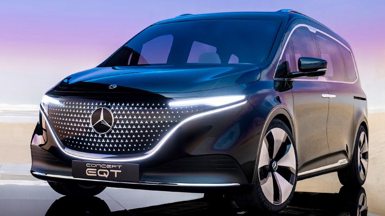 Enişteler bu arabaya çarpılacak: Mercedes Concept EQT
