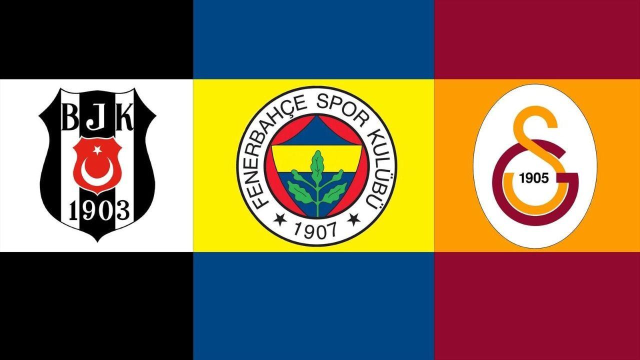 Fenerbahçe, Beşiktaş ve Galatasaray