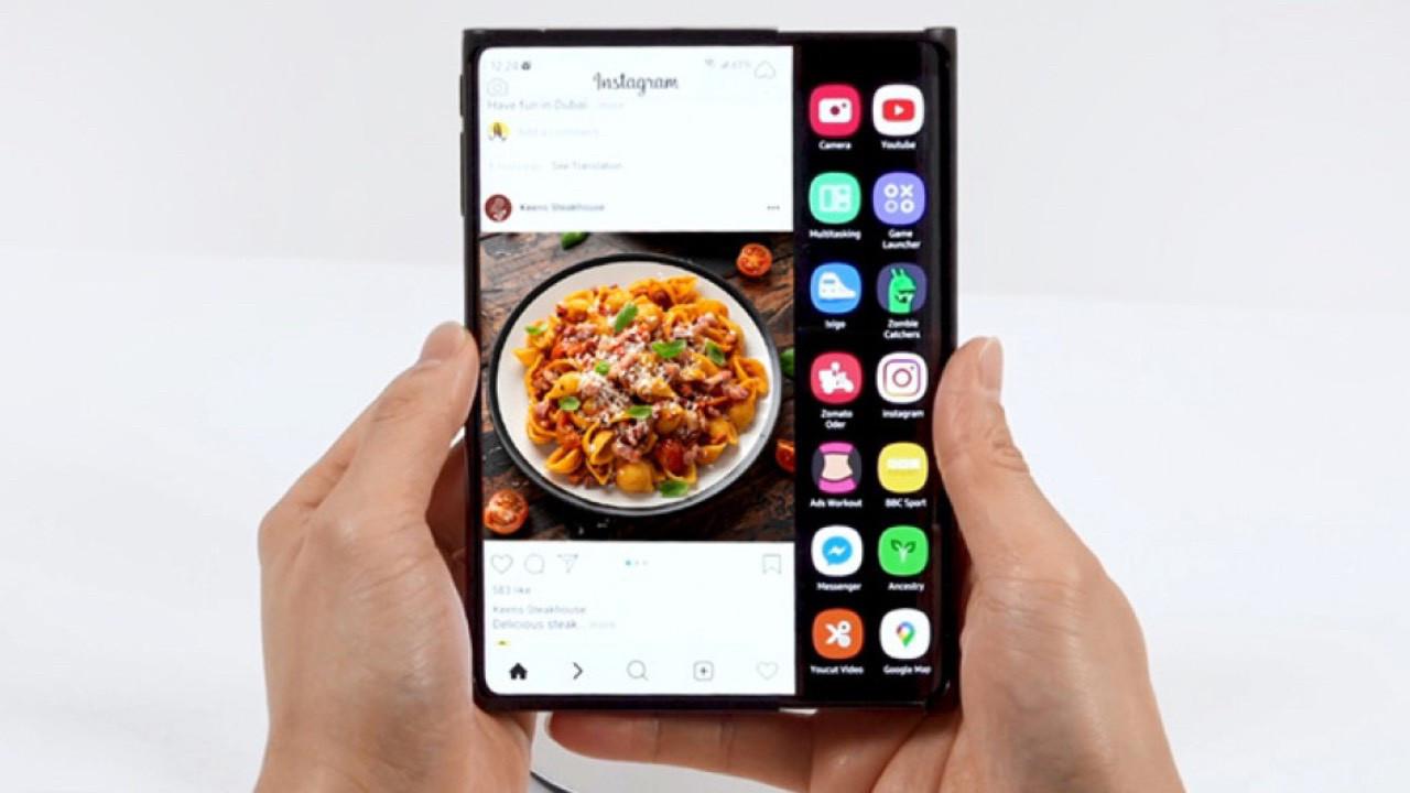 Samsung yeni katlanabilir ekranı ile devrim yaratıyor!