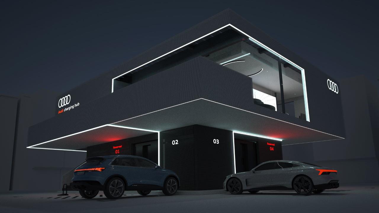Audi kendi elektrikli aracını kullananları krallar gibi ağırlayacak!