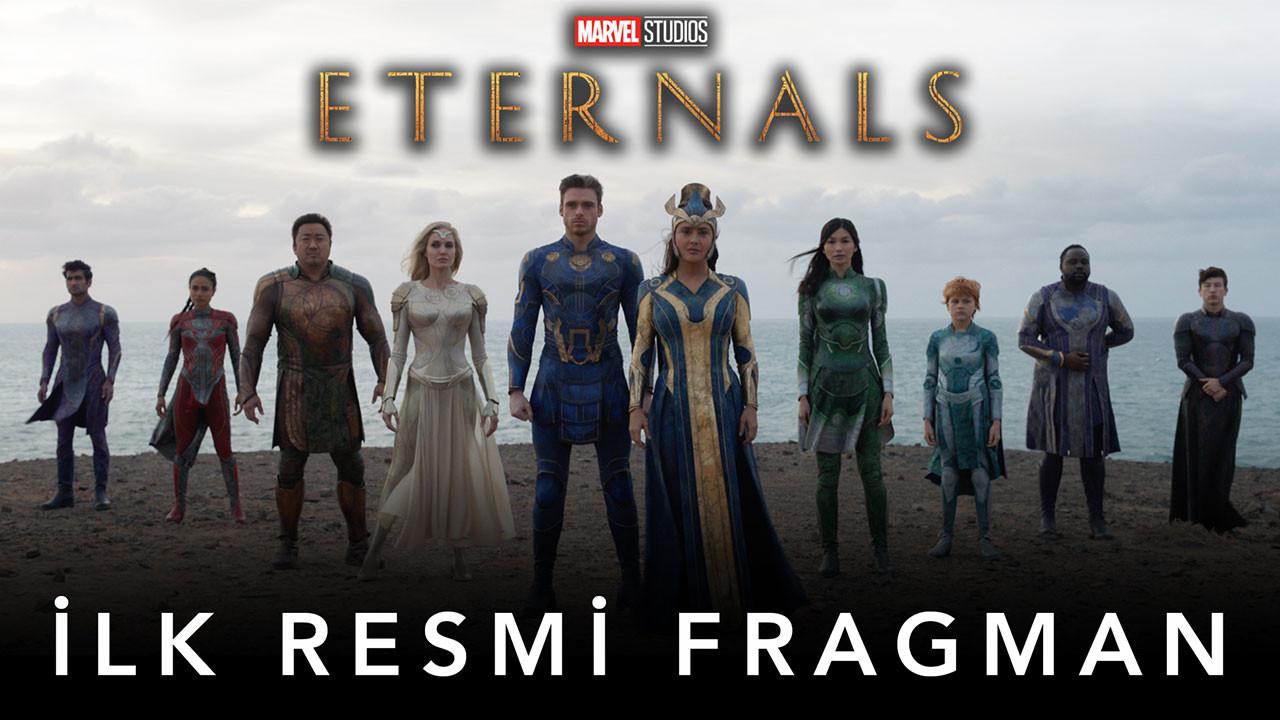 Eternals filminden ilk fragman geldi