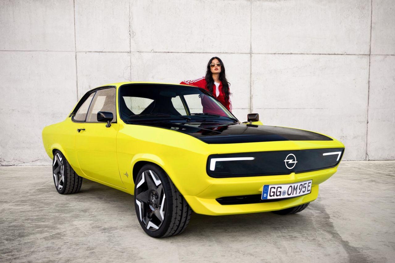 Efsane Opel Manta elektrikli hali ile geri dönüyor! - Page 1