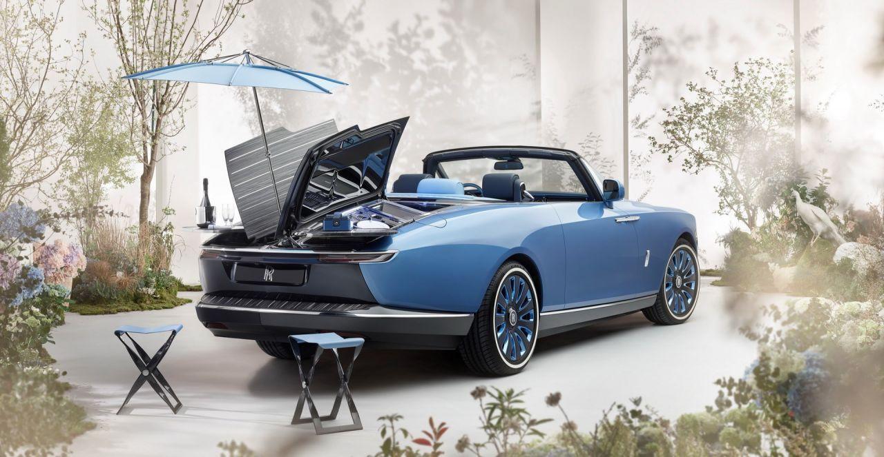 Karşınızda dünyanın en pahalı piknik arabası: Rolls-Royce Boat Tail! - Page 1