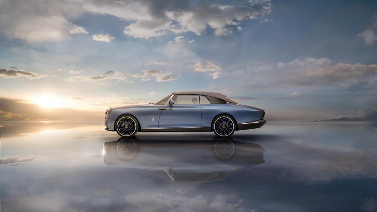Karşınızda dünyanın en pahalı piknik arabası: Rolls-Royce Boat Tail!