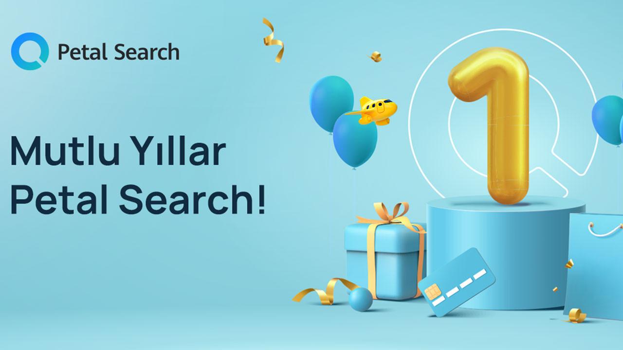 Petal Search 1 yaşında!