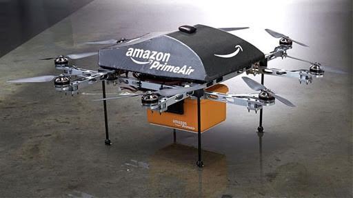 Drone kargoları için Amazon'un örneği