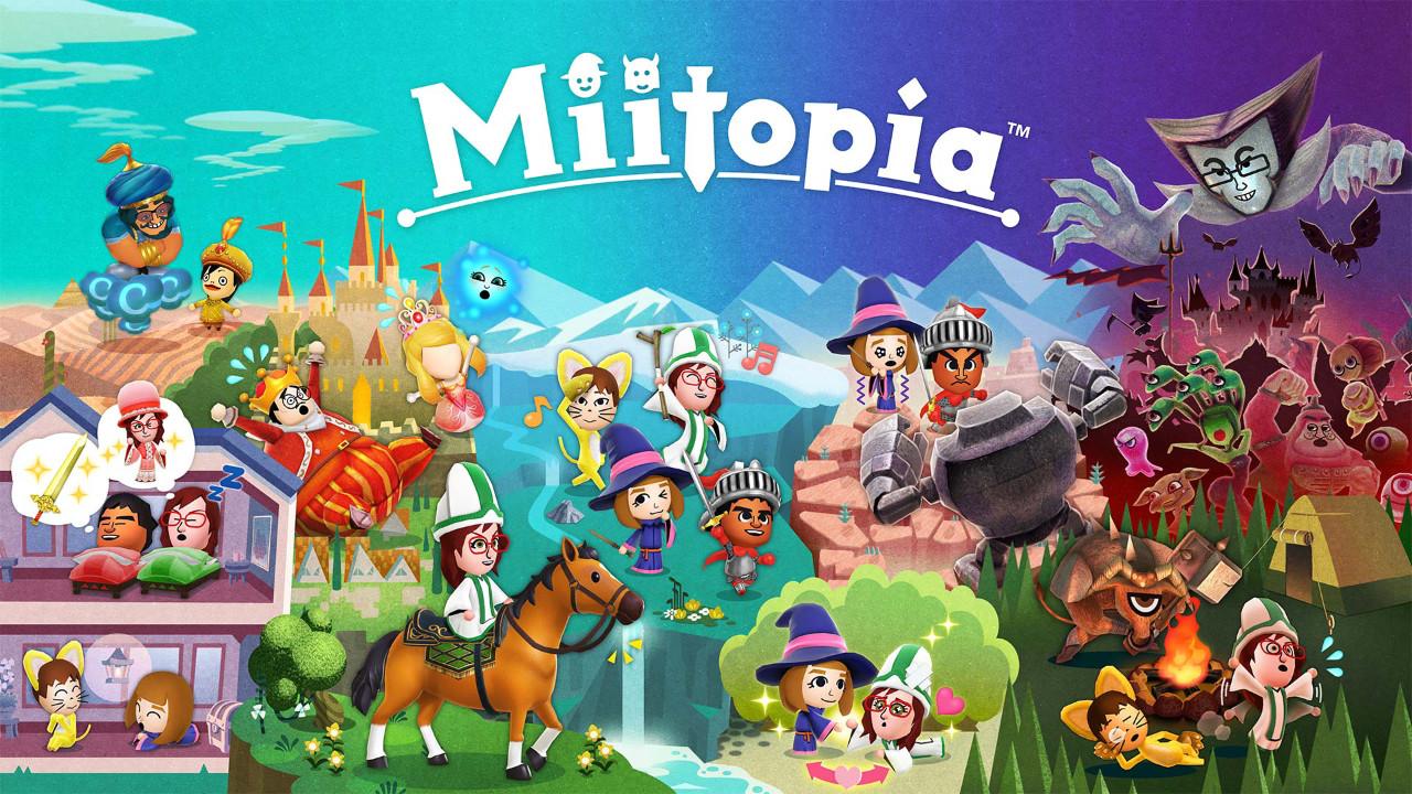 Miitopia ile yeni bir dünyaya adım atın!