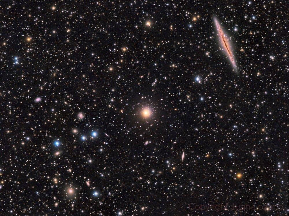NASA 150 milyon ışık yılı uzaklıktaki galaksinin fotoğrafını paylaştı! - Page 3