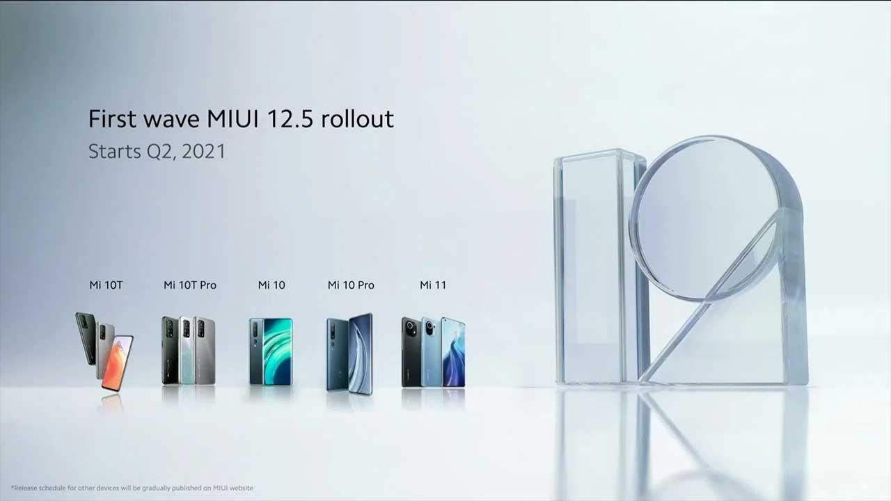Xiaomi 4 popüler modeli için MIUI 12.5 güncellemesini yayınladı