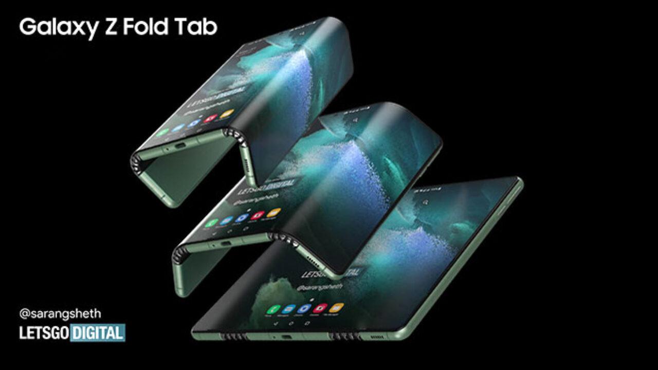 Karşınızda katlanabilir ekranlı ilk tablet! Z Fold Tab!