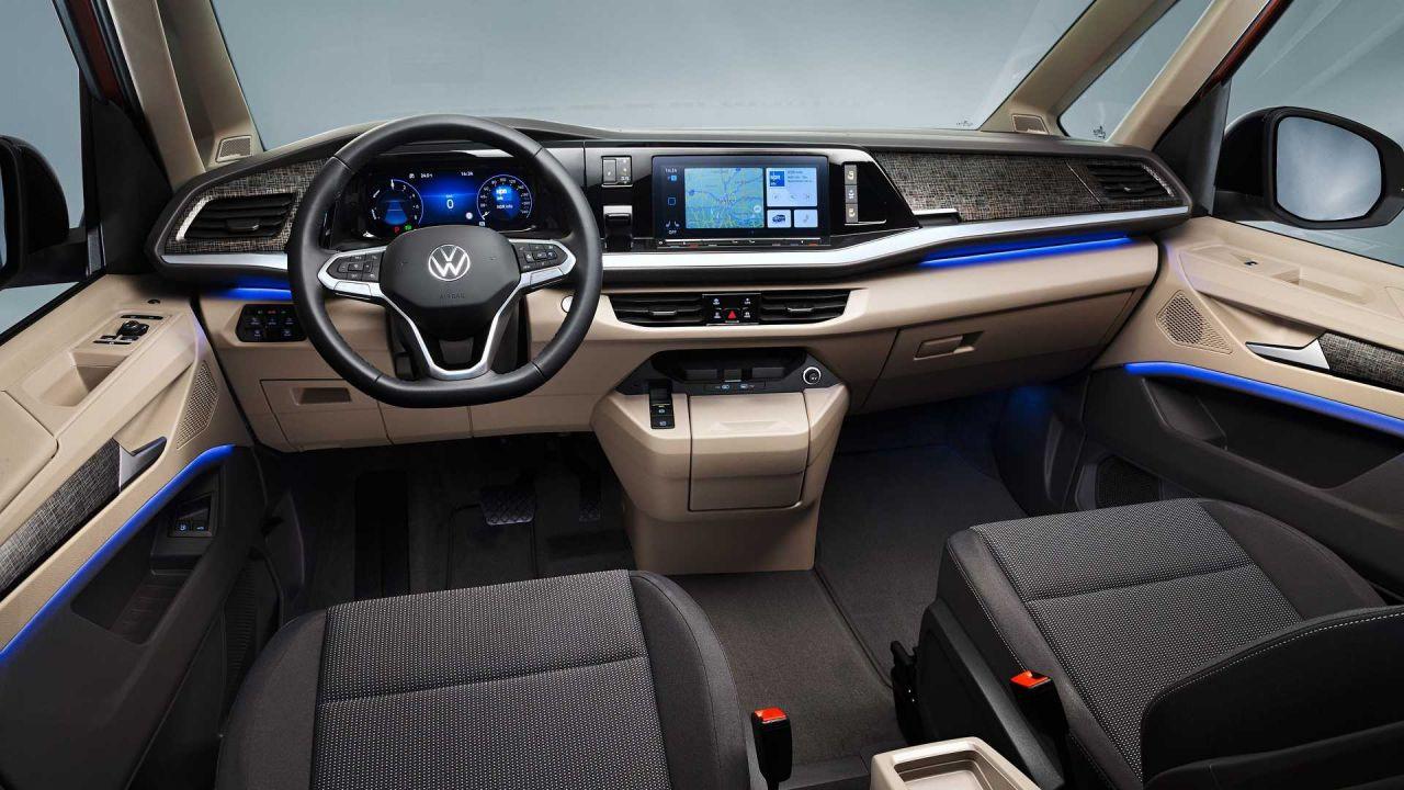 2022 Volkswagen T7 Multivan modeli tanıtıldı! İşte özellikleri! - Page 3
