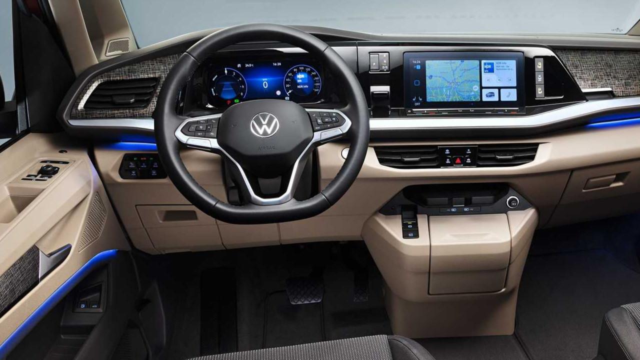 2022 Volkswagen T7 Multivan modeli tanıtıldı! İşte özellikleri!