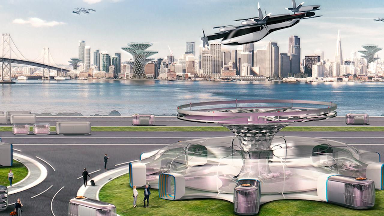 Hyundai uçan taksiler için ortaklık kurdu