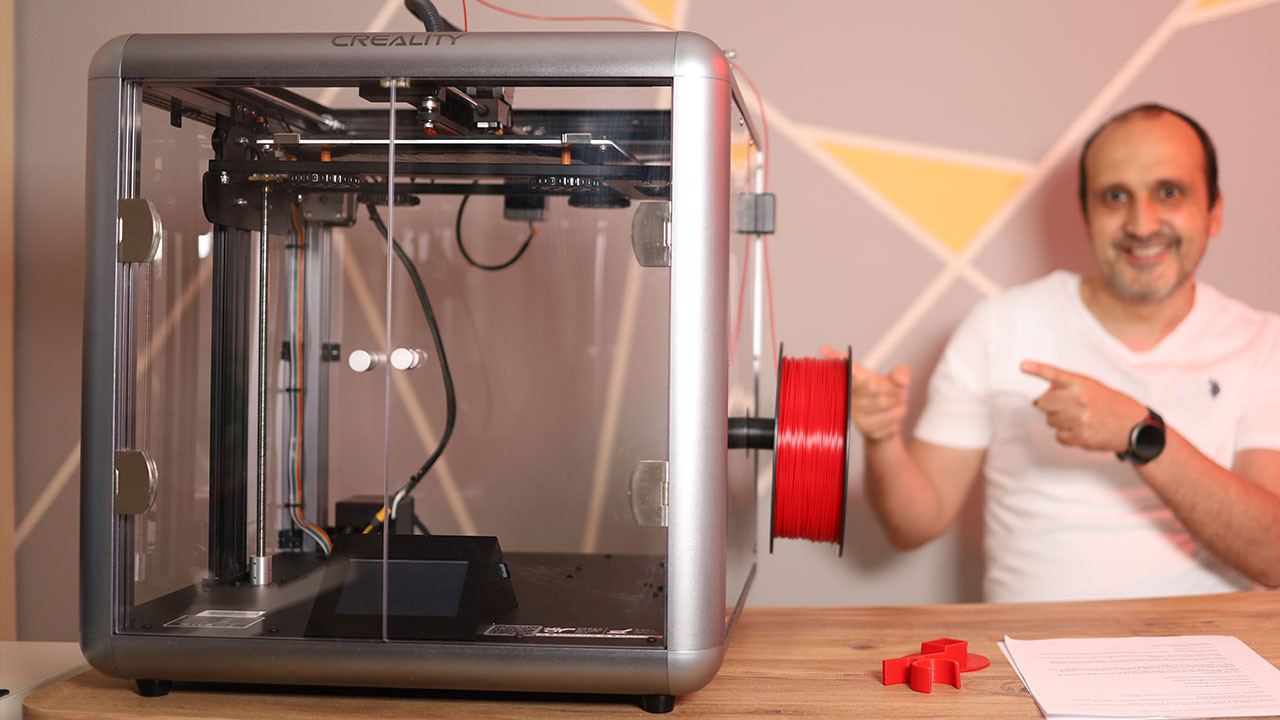 3D yazıcı dünyasına Creality Sermoon D1 ile giriş yapın!