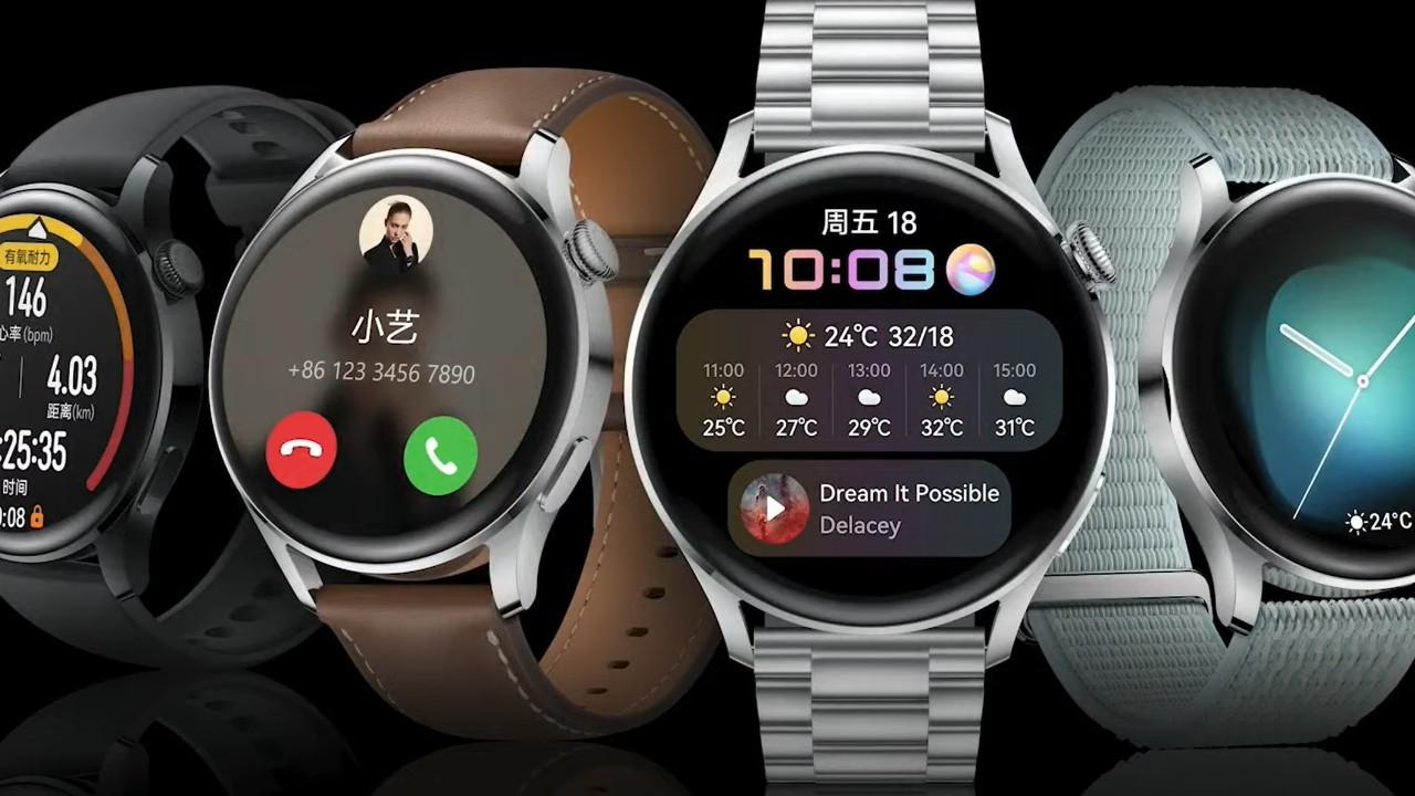 Huawei Watch 3 ve 3 Pro, özel Robert Lewandowski saatleri geliyor!