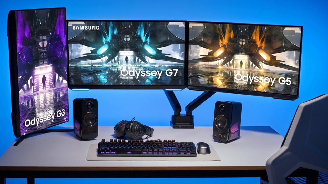 Samsung'dan 4K 144Hz monitör! Yeni Odyssey serisi ile tanışın!